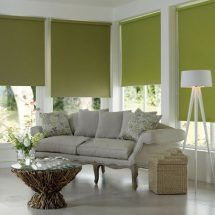 green-roller-blinds