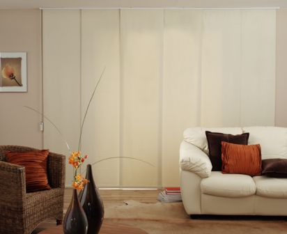 Classic Stylish And Blockout Panel Blinds