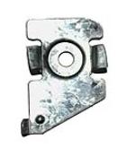 25mm Flat bracket