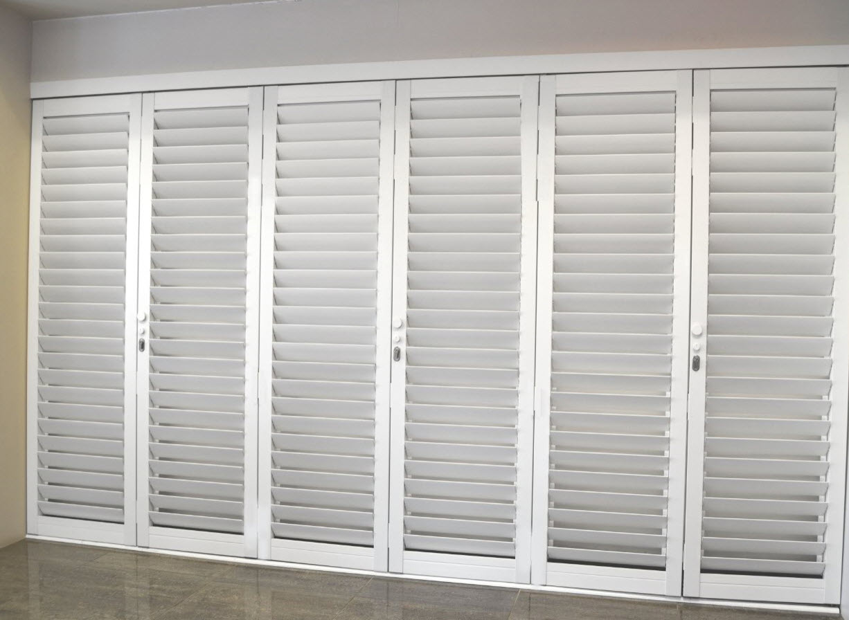 Aluminium Security Shutter Panels