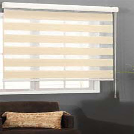 Double Roller Blinds Perforated Blinds For Light Control