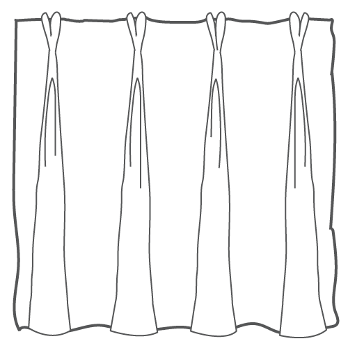 French Pleat