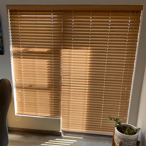 Bamboo Venetian Blinds 50mm