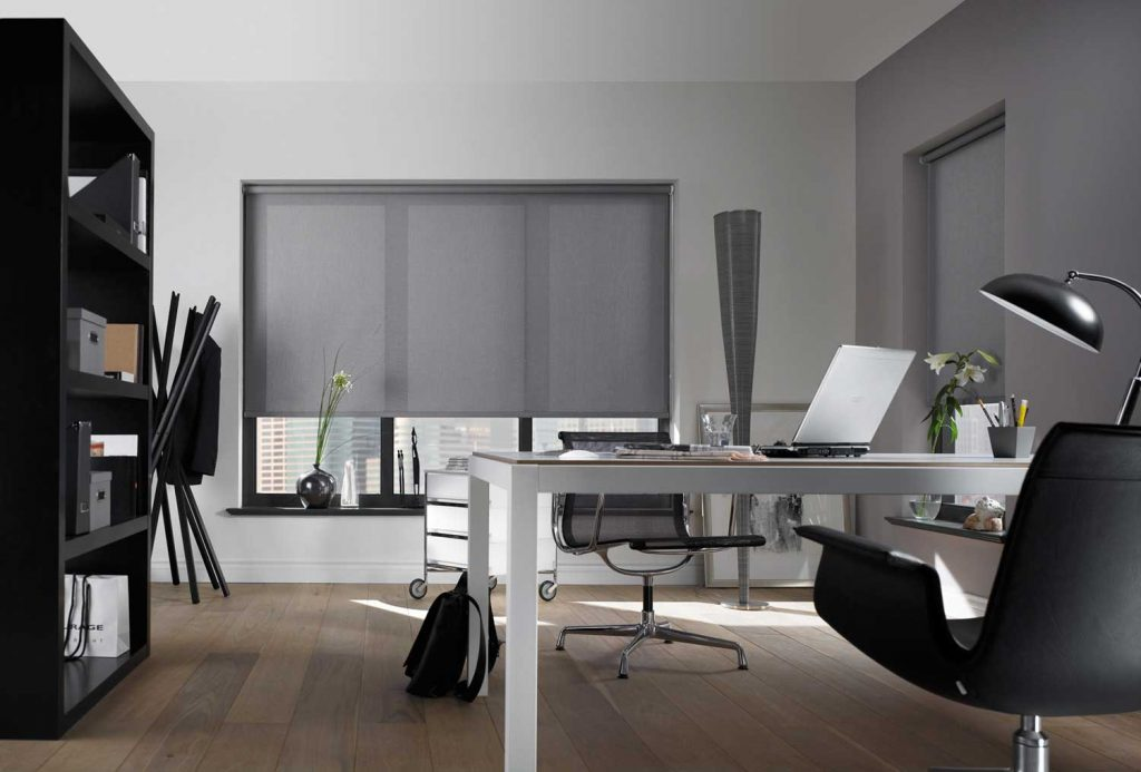 Blinds increase office productivity